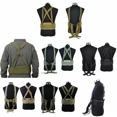 Einstellbare Molle Padded Gürtel Nylon Tactical Gear Airsoft Paintball Weste