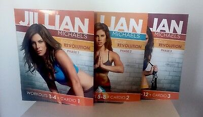 Jillian Michaels Body Revolution Workout DVD Set