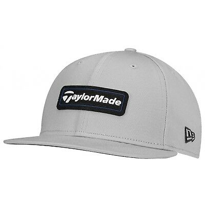 TaylorMade Golf Cap - TM New Era 9Fifty Lifestyle Adjustable Cap -Gray and Blue