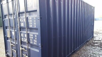 20ft USED EXPORT Shipping Container CSC PLATED