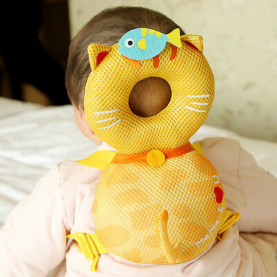 Toddler Baby Head Protection Pad/Pillow Cartoon Baby Neck Back Safety Products