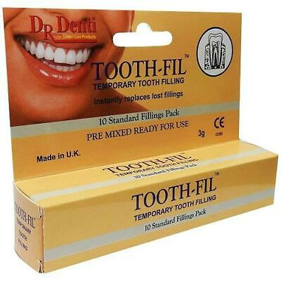 Dr Denti Tooth-Fil Tooth Filling Material 3G x 3 Pack