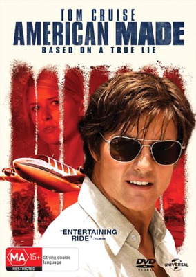 American Made Tom Cruise 2017 BRAND NEW SEALED R4 DVD