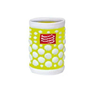Serre-poignets Compressport Sweat Band Dots Yellow