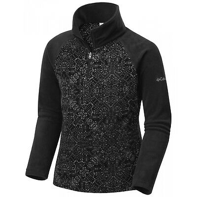 Polaire Columbia Glacial Ii Fleece Print Hz Black Snowflake