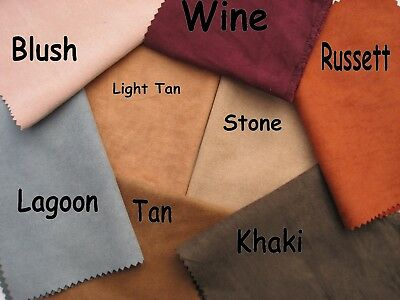New 100% Polyester Faux Suede 150CM wide