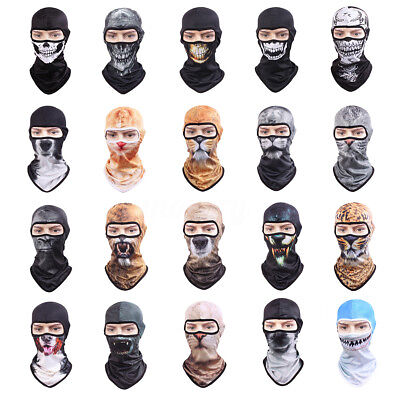 3D Animal Dog Outdoor Bicycle Cycling Ski Hat Balaclava Neck Hood Full Face Mask
