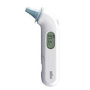 thermomètre auriculaire infrarouge thermoscan 3 irt 3030 braun