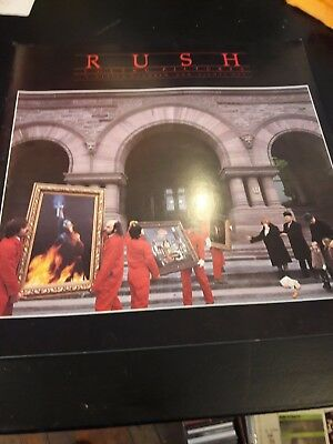 Rush concert tour programme moving pictures tour 1981 geddy Lee