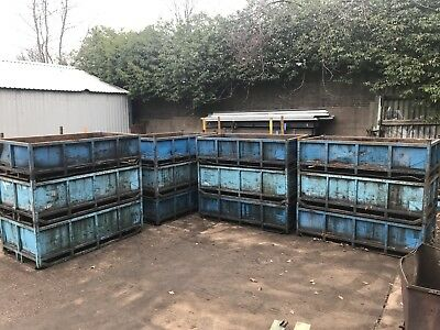 Foundry Bins Forklift Tipping Skips Press Shop