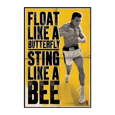 Poster Muhammad Ali pack Float Like A Butterfly 61 x 91 cm
