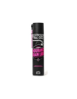 Lubrifiant chaîne Endurance Ceramic Lube 400ml MUC-OFF - Dirt bike / Pit bike /