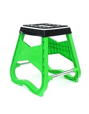 Repose Moto / Tabouret MX - Vert - Dirt bike / Pit bike / Mini Moto