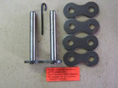 """#120-2 Roller Chain Connecting Link 1-1/2"""" pitch double strand"""