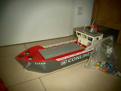 Playmobil Containerschiff *super Zustand*