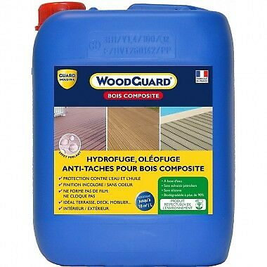 Antitaches bois composite - WoodGuard Bois Composite - 5L