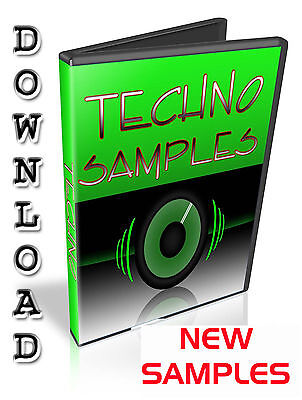 Techno Samples - Native Instruments Kontakt - Komplete - Maschine - Traktor