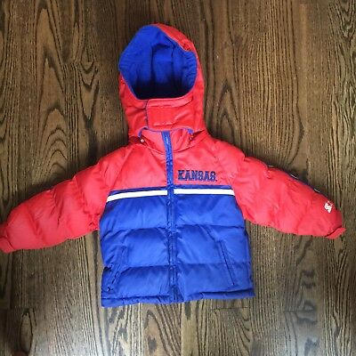 Starter Original University Of Kansas Vintage Youth Jacket  2T
