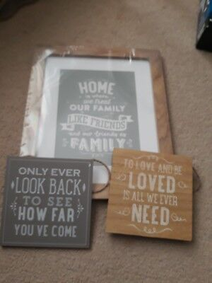 christmas unwanted gift wall quote/signs new