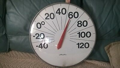 Vintage outdoor thermometer. Extra large 18 inches around Airguide
