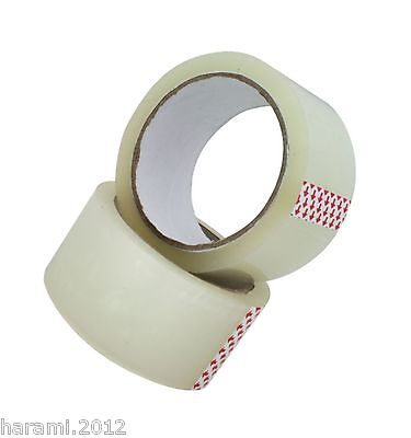 6-36 Casters Tape Quiet 66M x 50mm Packing Tape Transparent Packing Tape