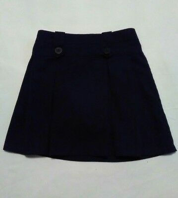 Austin Girls Navy School Uniform Skirt 6 with Shorts