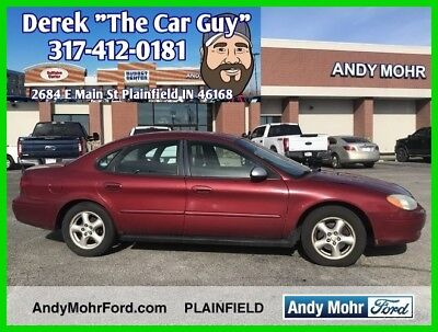 2003 Ford Taurus SES Used 03 Ford Taurus  SES  V6 Automatic FWD Sedan Premium No Reserve