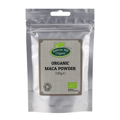 Organic Raw Maca Powder 100g Certified Organic