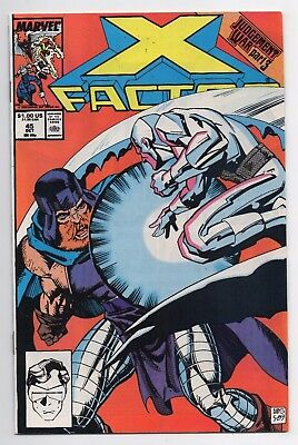 Marvel Comics X Factor #45 Copper Age