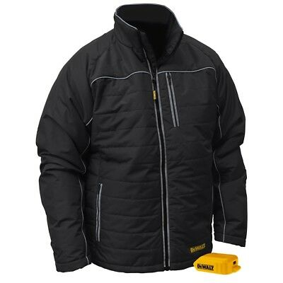 DEWALT DCHJ075B-S Small Heated Jacket Black Quilted (Jacket Only)