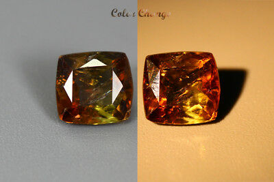1.620 Ct  Earth Mined Unique Dazzling 100% Natural Dancing' Color Change Axinite