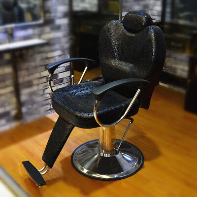 Black Salon Barbers Barber Chair Styling Tattoo Threading Beauty Hairdresser UK