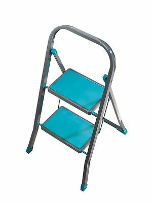 Beldray LA023957TQ 2 Step Stepladder, Turquoise