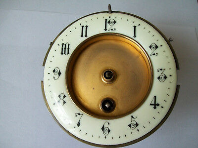 Antique / vintage working clock movement with its face spare parts