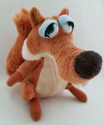 Ice Age Scratte Scrat soft toy new