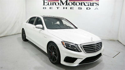 2015 Mercedes-Benz S-Class 4dr Sedan S 63 AMG 4MATIC -Class Mercedes-Benz S-Class 4dr Sedan S 63 AMG 4MATIC Low Miles Automatic Gaso