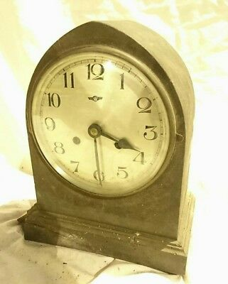 Antique 1920s  Edwardian Mantle  Clock Kienzle movement for Restoration