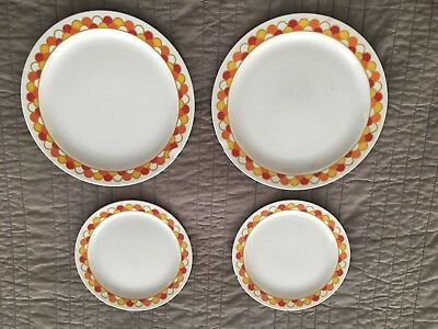 Georges Briard Boutique Fine China Mid Century Modern Vintage - 4 Chipped Dishes