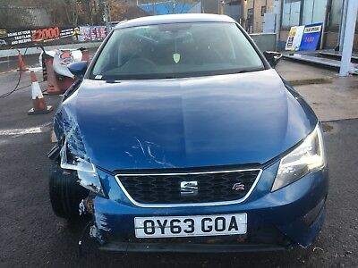 "L@@k 2013*seat Leon Fr 2.0 Tdi Technology Automatic *""63"" Reg*spares Or Repairs*"