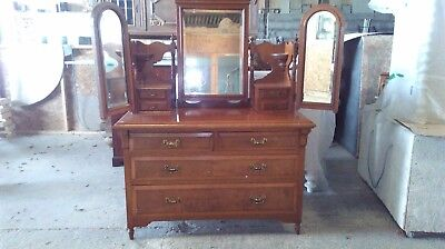 Edwardian Dressing Table / Chest of Drawers.
