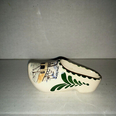 Gouda Clog, Made in Holland, Hand Painted,