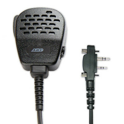 ARC S11021 Heavy Duty S11 Speaker Mic for ICOM 2-Pin Series w/ Screws (See List)