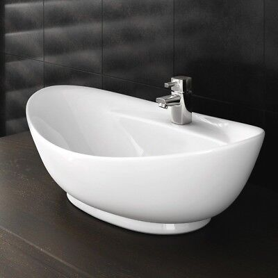 Stylish  Bathroom Countertop Ceramic Basin Sink ( Stunning Quality )