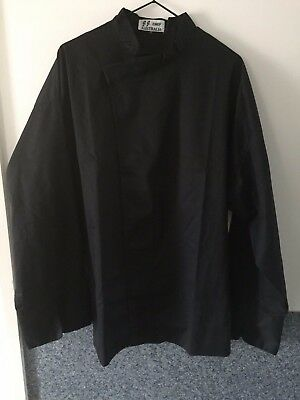 Black Chef Jacket - JJ Chef - Large (2)