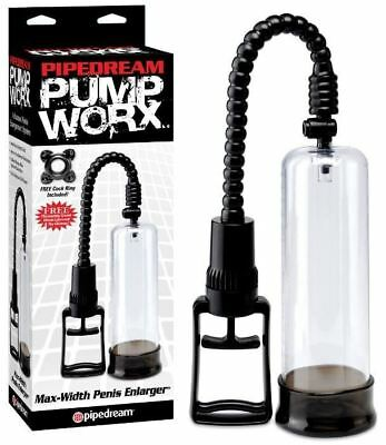 Developpeur Pump Worx Max-Width Penis Enlarger - Pipedream USA - Pompes seins -