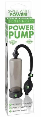 Developpeur de penis Beginner's Power Pump Noir - Pipedream USA - Pompes seins -