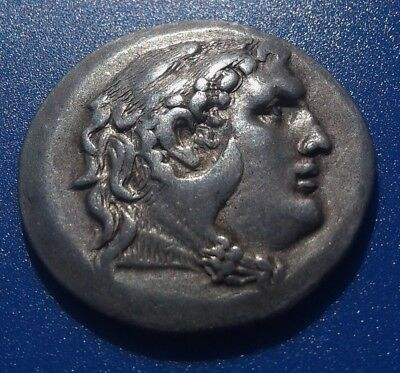 MACEDONIA. Alexander the Great. SCARCE Tetradrachm. Ancient Greek Silver Coin.