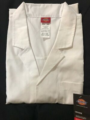 Dickies Everyday Scrubs Unisex 40 Inch Lab Coat Size M NWT 83403