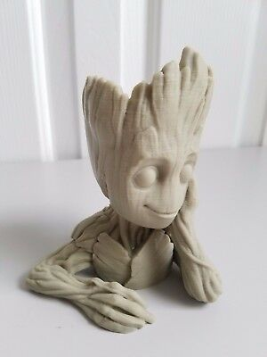 Baby Groot Planter Flower Pot Guardians of the Galaxy Vol 2 3 - Christmas Gift