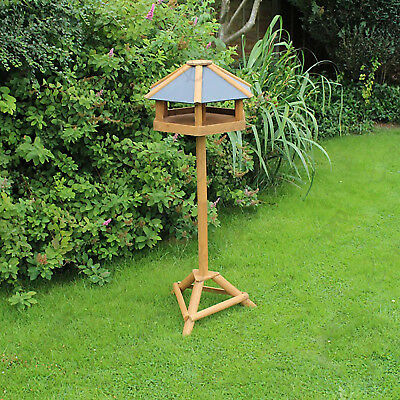 Hexagonal Bird table made from 100% Certified Eco Friendly FSC wood